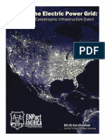 A Nationwide Catastrophic Infraestructure Event Grid Down - December 2014