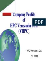 1 VHPC Presentation Comprehensive - Oct 2008