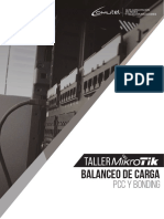 Temario de balanceo de carga