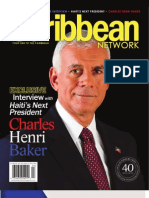 Caribbean Network Magazine's published article on Charles Henri Baker