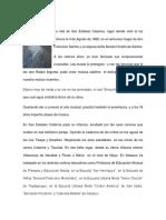Biografias Del Colegio Catolico