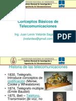 Aspectos básicos de Telecomunicaciones