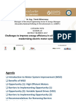 Challenges to Improve Energy Efficiency in Oil Refineries When Modernizing Electric Motor Systems (Final)