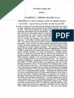 Palazzolo v. Rhode Island, 533 U.S. 606 (2001)
