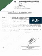 Documentos de Contraloría