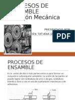 Procesos de Ensamble Sujecion Mecanica