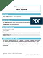 04 Thin Lenses 1