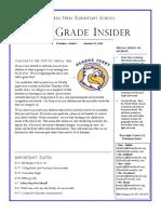 4th grade newsletter 8-15-19