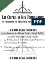 8) La Carta a Los Romanos 9