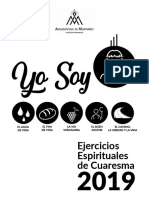 Ejercicios Espirituales de Cuaresma 2019
