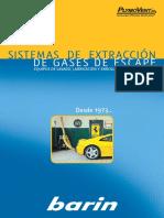 sistema de extraccion de gases
