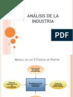 3 Análisis de La Industria- 5 Fuerzas Porter