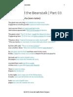 Jack and beanstalk pt3