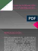 Plan de Formación Empresa Lap Distribuidora