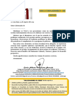 SC 22-2019 Presentación a Gores Modelo a Flavio