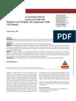 Nape and Peri Aricular Hair Transplant