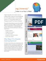 Critical Thinking University Brochure