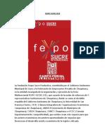 Fexpo Sucre 2018 - Copia
