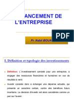 Le Financement Des Investissements