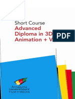 Short Course Advanced Diploma in 3D Animation and VFX