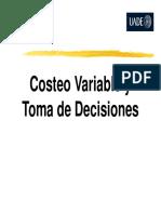 Gestion y costos