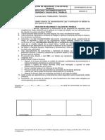 f. Inducción y Recomendaciones de Sst v01