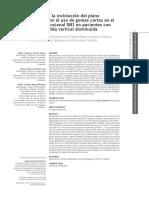 Cambio en la inclinación del plano palatino con el uso de gomas cortas en el aparato funcional SN1 en pacientes con sobremordida vertical disminuida