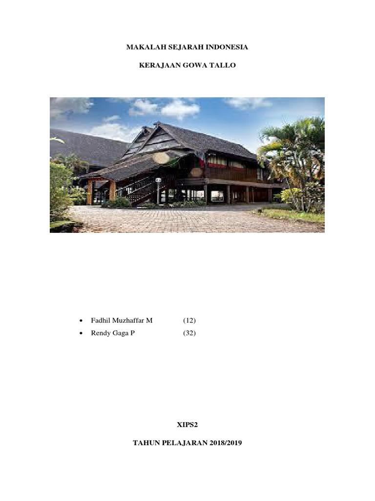 Makalah Sejarah Indonesia 1