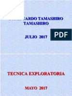 Tecnica Exploratoria Julio 2017