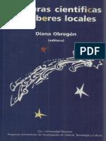 Diana Obregon (Ed) - Culturas científicas y saberes locales