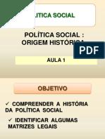 Politica Social AULA 1