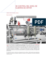 Sistemas de Control Del Nivel de Agua en Calderas de Vapor