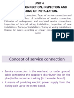 Service Connection, Inspection Ser