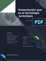 Presentación de Prototipos