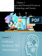 Lesson 1 Intellectual Revolutions That Defined Society