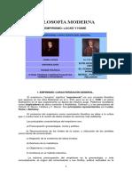 2. Filosofìa Moderna Locke y Hume