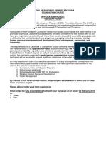 SHDP Application Project Concept OUT PUT