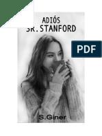 Giner Rodriguez Maria Asuncion - Adiós Señor Stanford