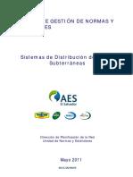Estandard de Construcción de Líneas Subterráneas 31-5-11_Comentado_140412