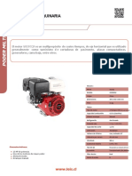 Ficha Técnica Motor HONDA GX390