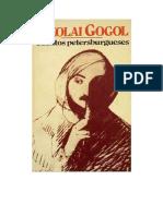 Gogol Nikolai - Cuentos Petersburgueses