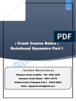 Rotation Dynamics Theory Complete