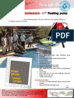 Paket Pompa Apung MAXIMAX-11hp --- 2012