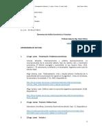 AEF Cronograma 2019 Segundo Cuatrimestre