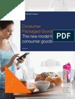 The New Model for Consumer Goods