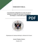 Aproximación al diagnóstico de causa de muerte mediante el estudio de marcadores bioquímicos, morfológicos e inmunohistoquímicos.pdf