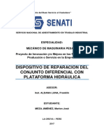Proyecto Senati CFP La Oroya