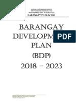 393857499-Barangay-Development-Plan-2018-2023.docx