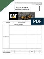 Guia de Taller N°4 Caracteristicas de los equipos CAT
