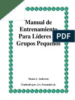 Manual de Entrenamiento Para Grupos Pequeños